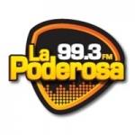Logo da emissora Radio La Poderosa 99.3 FM