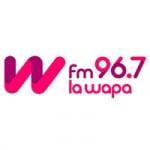 Logo da emissora Radio La Wapa 96.7 FM