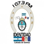 Logo da emissora Radio Identidad 107.3 FM