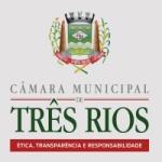 Logo da emissora Rádio Câmara de Três Rios