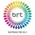 Logo da emissora Bayrak 92.1 FM
