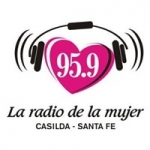 Logo da emissora Radio De La Mujer 95.9 FM