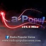 Logo da emissora Radio Popular 104.5 FM