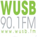 Logo da emissora WUSB 90.1 FM