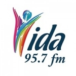 Logo da emissora Radio Vida 95.7 FM