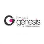 Logo da emissora Radio Genesis 94.3 FM