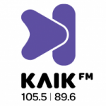 Logo da emissora Radio Klik 105.5 FM