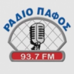 Logo da emissora Radio Pafos 92.5 FM