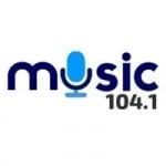 Logo da emissora Radio Music 104.1 FM
