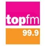 Logo da emissora Radio Top 99.9 FM