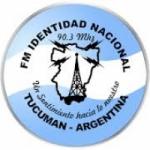 Logo da emissora Radio Identidad Nacional 90.3 FM