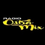 Logo da emissora Rádio Ostra Mix