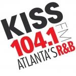 Logo da emissora WALR 104.1 FM Kiss