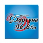 Logo da emissora Fortuna 96.8 FM
