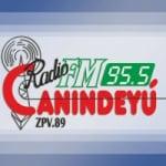 Logo da emissora Radio Canindeyú 95.5 FM