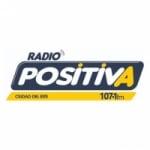 Logo da emissora Radio Positiva 107.1 FM