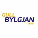 Logo da emissora Gull Bylgjan 90.9 FM