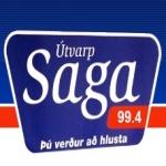 Logo da emissora Saga 99.4 FM