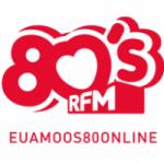 Logo da emissora Rádio 80 Online RFM