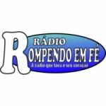 Logo da emissora Rádio Rompendo em Fé