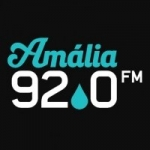 Logo da emissora Rádio Amália 92.0 FM