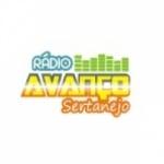 Logo da emissora Rádio Avanço Sertanejo