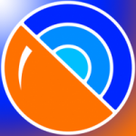 Logo da emissora Rádio Laranjeira