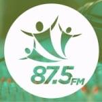 Logo da emissora Rádio Caiçara 87.5 FM