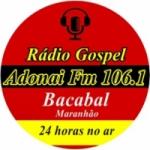 Logo da emissora Rádio Adonai FM
