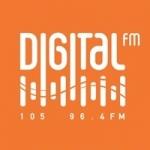 Logo da emissora Rádio Digital 105.0 FM