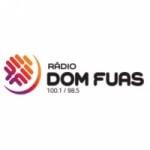 Logo da emissora Rádio Dom Fuas 100.1 FM
