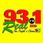Logo da emissora Radio Real 93.1 FM