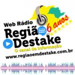 Logo da emissora Região em Destake Web Rádio