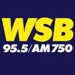 Logo da emissora Radio WSBB 95.5 FM