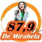 Logo da emissora Rádio Mirabela 87.9 FM