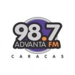 Logo da emissora Radio Advanta 98.7 FM