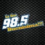 Logo da emissora Radio Buenísima 98.5 FM