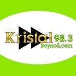 Logo da emissora Radio Kristal 98.3 FM