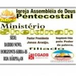 Logo da emissora Web Rádio Pentecostal Shekinah