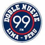 Logo da emissora Radio Doble Nueve 99.1 FM