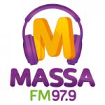 Logo da emissora Rádio Massa 97.9 FM