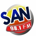 Logo da emissora San FM 98.1