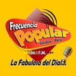 Logo da emissora Radio Frecuencia Popular 106.1 FM