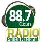 Logo da emissora Radio Policía Nacional 88.7 FM