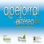 Logo da emissora Radio Abejorral Estéreo 107.4 FM