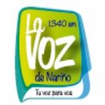 Logo da emissora Radio La Voz de Nariño 1340 AM