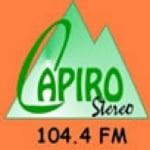 Logo da emissora Radio Capiro Stereo 104.4 FM