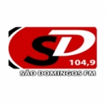 Logo da emissora Rádio São Domingos 104.9 FM