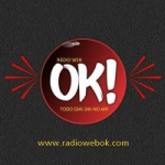 Logo da emissora Rádio Web OK