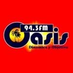 Logo da emissora Radio Oasis 94.3 FM
